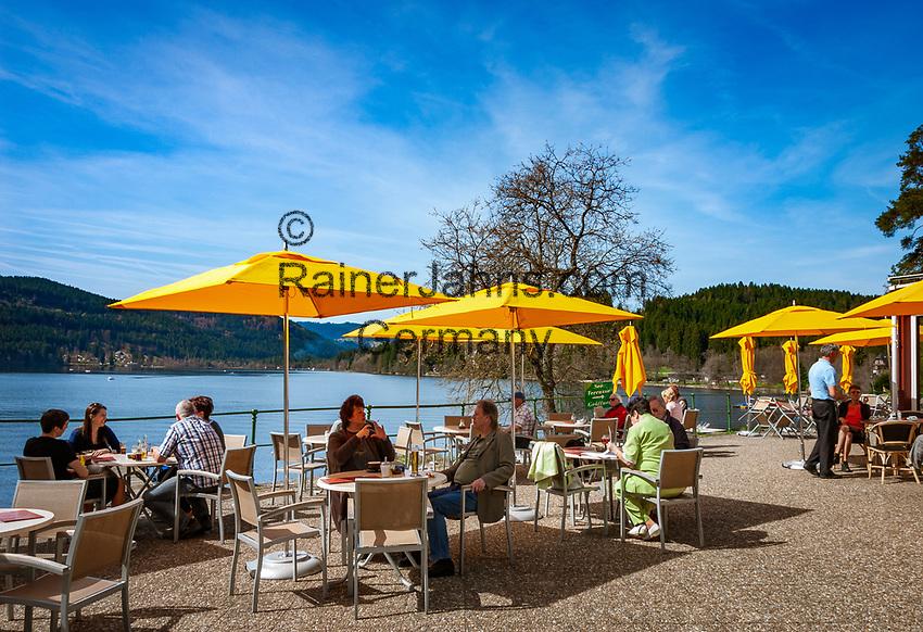 Deutschland, Baden-Wuerttemberg, Schwarzwald, Titisee: Kurort am Titisee