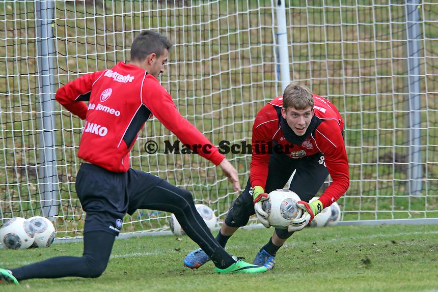 Joselu (Eintracht) scheitert an Felix Wiewald
