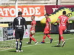 Patriotas venció como local 1-0 a Fortaleza. Fecha 16 Liga Águila II-2016.
