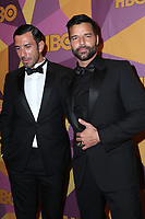 BEVERLY HILLS, CA - JANUARY 7: Ricky Martin, Jwan Yosef at the HBO Golden Globes After Party at the Beverly Hilton in Beverly Hills, California on January 7, 2018. <br /> CAP/MPI/FS<br /> &copy;FS/MPI/Capital Pictures