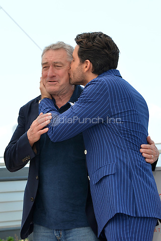 Robert de Niro and Edgar Ramirez at the Photocall 'Hands of Stone' - 69th Cannes Film Festival on May 16, 2016 in Cannes, France.<br /> CAP/LAF<br /> &copy;Lafitte/Capital Pictures /MediaPunch ***NORTH AND SOUTH AMERICA ONLY***