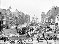 Montreal Jacques Cartier Square 1900 LOC