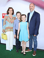 NEW YORK, NY-June 25: Lauren Renaud, John Renaud, Kiely Renaud, Chris Renaud at Universal Pictures & Illumination Entertainment present the premiere of The Secret Life of Pets  at the  David H. Koch Theartre Lincoln Center in New York. NY June 25, 2016. Credit:RW/MediaPunch