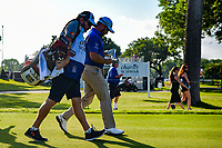Graeme McDowell (NIR) heads down 6 during round 3 of the 2019 Charles Schwab Challenge, Colonial Country Club, Ft. Worth, Texas,  USA. 5/25/2019.<br /> Picture: Golffile | Ken Murray<br /> <br /> All photo usage must carry mandatory copyright credit (© Golffile | Ken Murray)