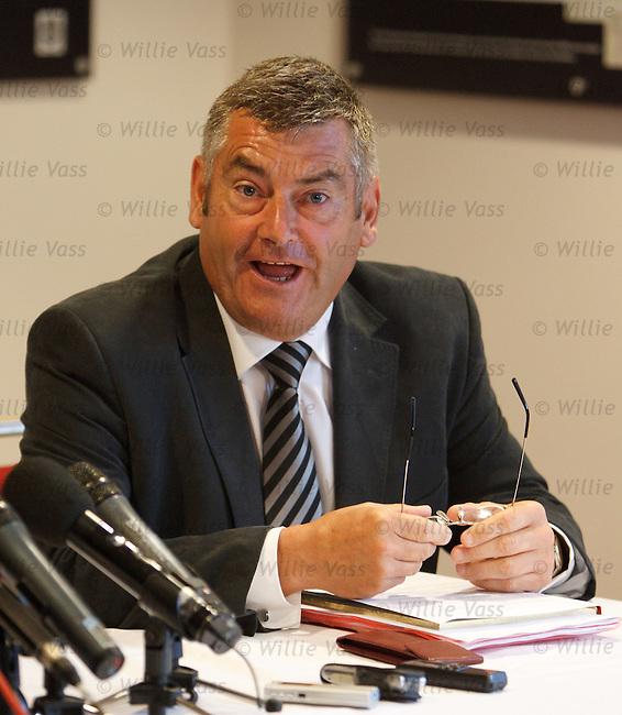 St Mirren chairman Stewart Gilmour