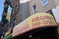 """A Polish store is pictured by a Subway restaurant in the Greenpoint neighborhood of New York City borough of Brooklyn, NY, Monday August 1, 2011. Greenpoint is sometimes referred to as """"Little Poland"""" due to its large population of working-class Polish immigrants, reportedly the second largest concentration in the United States after Chicago."""