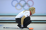 10/02/2014 - Womens Curling - Ice Cube curling centre - Olympic Park - Sochi - Russia