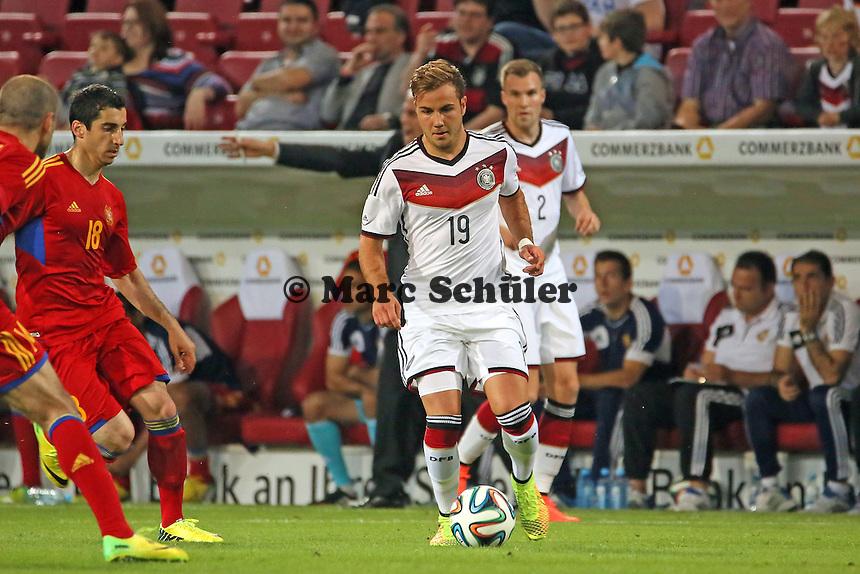 Mario Götze (D) - Deutschland vs. Armenien in Mainz