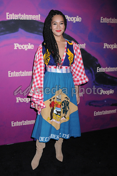 13 May 2019 - New York, New York - Olivia Lucy Phillip at the Entertainment Weekly & People New York Upfronts Celebration at Union Park in Flat Iron. Photo Credit: LJ Fotos/AdMedia