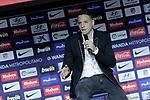 Atletico de Madrid's new player Santiago Arias during his official presentation. August 13, 2018. (ALTERPHOTOS/Acero)