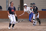 Wildcats' Dakota Robinson hits against Snow College at Edmonds Sports Complex in Carson City, Nev., on Friday, March 20, 2015. <br /> Photo by Cathleen Allison/Nevada Photo Source