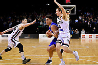Saints' Reuben Te Rangi in action during the NBL- Cigna Saints v Rams at TSB Arena,  Wellington, New Zealand on Sunday 23 June 2019. <br /> Photo by Masanori Udagawa. <br /> www.photowellington.photoshelter.com