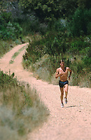 FEB 1999 - STELLENBOSCH, SOUTH AFRICA - Marc Jenkins - British Triathlon Elite Squad Training Camp. (PHOTO (C) NIGEL FARROW)