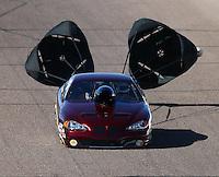 Feb 26, 2016; Chandler, AZ, USA; NHRA top sportsman driver Dave Slatten during qualifying for the Carquest Nationals at Wild Horse Pass Motorsports Park. Mandatory Credit: Mark J. Rebilas-