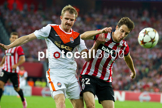 ATHLETIC CLUB-SHAKHTAR DONETS during the campions league<br /> guillermo<br /> PHOTOCALL3000
