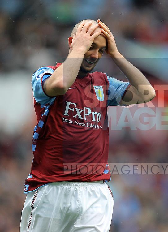 Stephen Ireland of Aston Villa