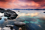 Thunderbird Rocks, East Shore, Lake Tahoe