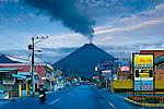 Arenal Volcano, Downtown La Fortuna, Costa Rica