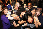 """Cast members making their Broadway debuts During the Actors' Equity Opening Night Legacy Robe honoring Vasthy Mompoint for """"The Prom"""" at The Longacre Theatre on November 15, 2018 in New York City."""