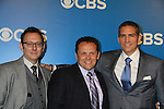Person of Interest's Michael Emerson, Kevin Chapman, Jim Caviezel - CBS Upfront 2012 at the Tent in Lincoln Center, New York City, New York. (Photo by Sue Coflin/Max Photos)