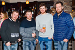 Anthony Lynch, Chris Carroll, Patrick Carroll and Tommy Harrington, enjoying the Beard Festival in Causeway on Saturday night last.