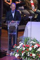 SAO PAULO, SP, 02.05.2014 - ENCONTRO NACIONAL DO PT - Rui Falcao presidente do PT  durante XIV Encontro Nacional do PT no Anhembi região norte da cidade de Sao Paulo nesta sexta-feira, 02. (Foto: Amauri Nehn / Brazil Proto Press).