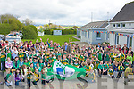GREEN FLAG: A great day for the pupiuls of Spa NS on Friday as they gave Dara O Se? a hand in hoisting the Green Flag at their school....