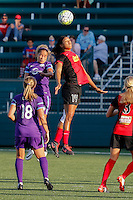 Rochester, NY - Saturday June 11, 2016: Western New York Flash forward Jessica McDonald (14) during a regular season National Women's Soccer League (NWSL) match between the Western New York Flash and the Orlando Pride at Rochester Rhinos Stadium.