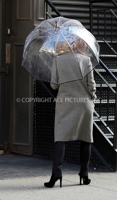 WWW.ACEPIXS.COM<br /> <br /> January 22 2015, New York City<br /> <br /> Actress Julianne Moore takes part in a photoshoot for L'Oreal in downtown Manhattan on January 22 2015 in New York City<br /> <br /> By Line: Zelig Shaul/ACE Pictures<br /> <br /> <br /> ACE Pictures, Inc.<br /> tel: 646 769 0430<br /> Email: info@acepixs.com<br /> www.acepixs.com