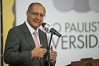 SAO PAULO, SP,  19 DE FEVEREIRO DE 2013. GERALDO ALCKMIN ENTREGA SELO PAULISTA DA DIVERSIDADE.. O Governador Geraldo Alckmin durante entrega do Selo Paulista da Diversidade.  Serão certificadas e homenageadas 18 empresas participantes do programa, que objetiva estimular as organizações públicas, privadas e da sociedade civil a abordar a questão da diversidade na sua gestão FOTO ADRIANA SPACA/BRAZIL PHOTO PRESS