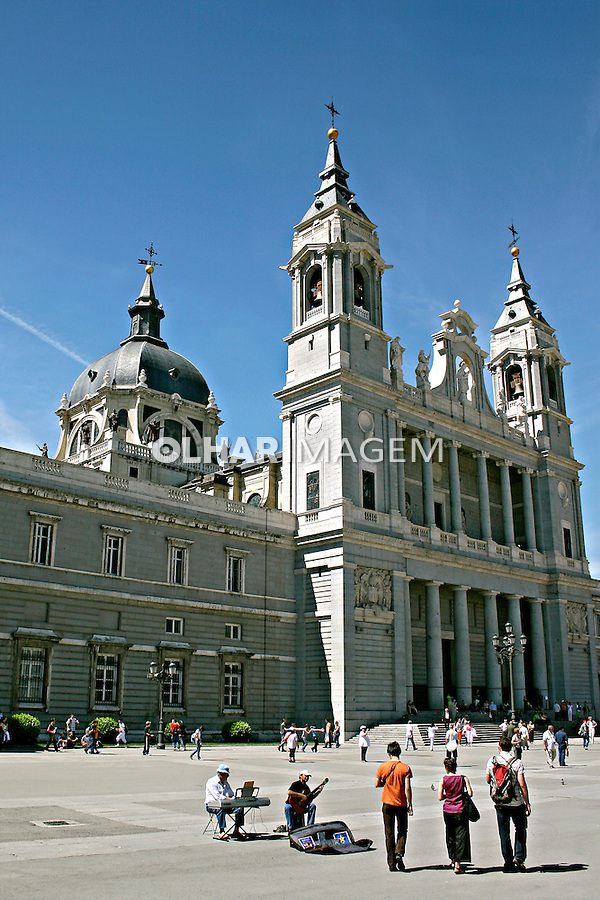 Catedral de la Almudena em Madri. Espanha. 2007. Foto de Marcio Nel Cimatti.