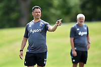 Bath Rugby Head Coach Tabai Matson. Bath Rugby pre-season skills training on June 22, 2017 at Farleigh House in Bath, England. Photo by: Patrick Khachfe / Onside Images
