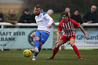 Billy Bricknell of Enfield during Enfield Town vs Folkestone Invicta, BetVictor League Premier Division Football at the Queen Elizabeth II Stadium on 16th November 2019