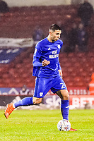 Cardiff City's midfielder Marko Grujic (24) during the Sky Bet Championship match between Sheff United and Cardiff City at Bramall Lane, Sheffield, England on 2 April 2018. Photo by Stephen Buckley / PRiME Media Images.