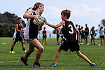 Junior Touch, Te Puru Park, Beachlands, Auckland, New Zealand. Saturday 25 February 2017. Photo: Simon Watts / www.bwmedia.co.nz