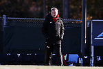 21 November 2014: Seattle head coach Julie Woodward. The University of South Carolina Gamecocks played the Seattle University Redhawks at Fetzer Field in Chapel Hill, NC in a 2014 NCAA Division I Women's Soccer Tournament Second Round match. South Carolina advanced by winning the Penalty Shootout 2-1 after the game ended in a 0-0 tie after double overtime.