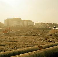 Maart 1992. Eilandje in Antwerpen.