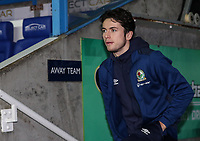 Blackburn Rovers' Lewis Travis pictured before the match<br /> <br /> Photographer Andrew Kearns/CameraSport<br /> <br /> The EFL Sky Bet Championship - Reading v Blackburn Rovers - Wednesday 13th February 2019 - Madejski Stadium - Reading<br /> <br /> World Copyright © 2019 CameraSport. All rights reserved. 43 Linden Ave. Countesthorpe. Leicester. England. LE8 5PG - Tel: +44 (0) 116 277 4147 - admin@camerasport.com - www.camerasport.com