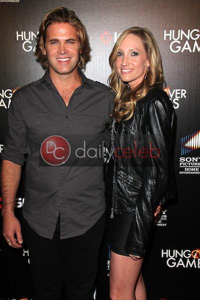 Matt Flanagan, Tara Smith<br /> at &quot;The Hungover Games&quot; Premiere, TCL Chinese 6, Hollywood, CA 02-11-14<br /> David Edwards/Dailyceleb.com 818-249-4998