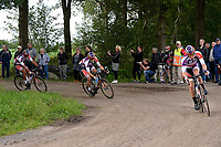 PEEST - Wielersport, Slag om Norg 02-07-2017,  de kop van het peloton op de Veldweg