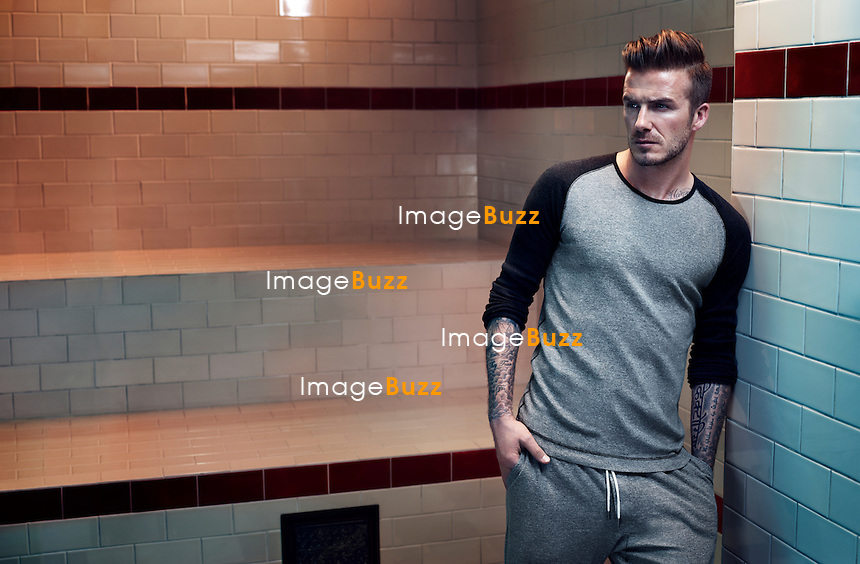 DAVID BECKHAM POSES FOR H&M UNDERWEAR - David Beckham poses H&M Underwear new collection 2013. The 37 year old football ambassador has been peeling off - again - as he embarks on a new promotional campaign for his latest line of underwear for H&M.