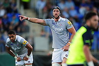 Luke Charteris of Bath Rugby. Pre-season friendly match, between Leinster Rugby and Bath Rugby on August 26, 2016 at Donnybrook Stadium in Dublin, Republic of Ireland. Photo by: Patrick Khachfe / Onside Images