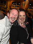 Colin and Shelly Grimes pictured at the Team Carrie end of season dinner in the Grove Hotel Dunleer. Photo:Colin Bell/pressphotos.ie