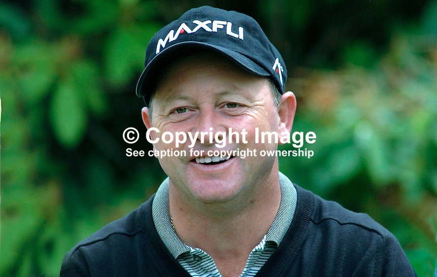 Ian Woosnam, professional golfer, Wales. Britain, UK. Picture taken during pro-am before the Smurfit European Golf Championship at the K Club, Co Kildare, Rep of Ireland. Ref: 200207035929...Copyright Image from Victor Patterson, 54 Dorchester Park, Belfast, UK, BT9 6RJ..Tel: +44 28 9066 1296.Mob: +44 7802 353836.Voicemail +44 20 8816 7153.Skype: victorpattersonbelfast.Email: victorpatterson@mac.com.Email: victorpatterson@ireland.com (back-up)..IMPORTANT: If you wish to use this image or any other of my images please go to www.victorpatterson.com and click on the Terms & Conditions. Then contact me by email or phone with the reference number(s) of the image(s) concerned.