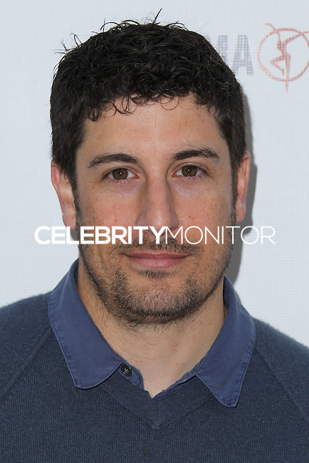 LOS ANGELES, CA, USA - APRIL 27: Jason Biggs at the Milk + Bookies 5th Annual Story Time Celebration held at the Skirball Cultural Center on April 27, 2014 in Los Angeles, California, United States. (Photo by Xavier Collin/Celebrity Monitor)