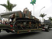 SAO PAULO, SP, 09.07.2013 - DESFILE 9 DE JULHO - Desfile em comemoração à Revolução Constitucionalista de 1932, neste 9 de Julho, em São Paulo. (FOTO: MAURICIO CAMARGO / BRAZIL PHOTO PRESS).