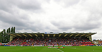 A general view of the Lincolnshire Co-operative Stand at Sincil Bank, home of Lincoln City FC<br /> <br /> Photographer Chris Vaughan/CameraSport<br /> <br /> The EFL Sky Bet League Two - Lincoln City v Morecambe - Saturday August 12th 2017 - Sincil Bank - Lincoln<br /> <br /> World Copyright &copy; 2017 CameraSport. All rights reserved. 43 Linden Ave. Countesthorpe. Leicester. England. LE8 5PG - Tel: +44 (0) 116 277 4147 - admin@camerasport.com - www.camerasport.com