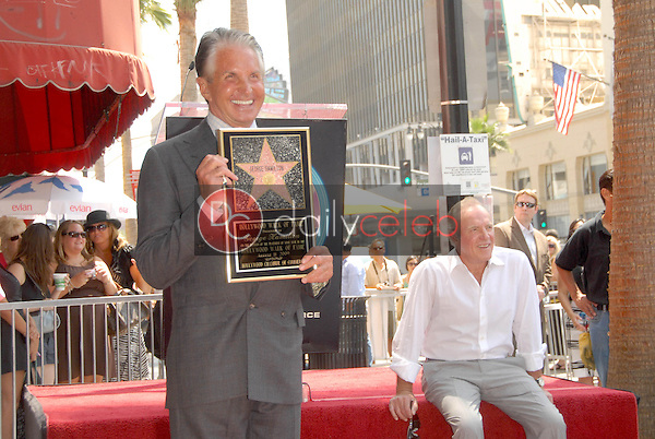 George Hamilton and James Caan<br />