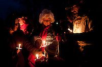 Candlelight vigil held at the Fort Smith National Cemetery as part of the Wreaths Across America Christmas Honors.
