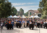 The Occidental College Department of Admission hosts Experience Occidental for admitted students and families on April 19, 2019. Guests could spend the day on campus to visit classes, hear from current students, learn about community resources and explore the campus.<br /> (Photo by Marc Campos, Occidental College Photographer)